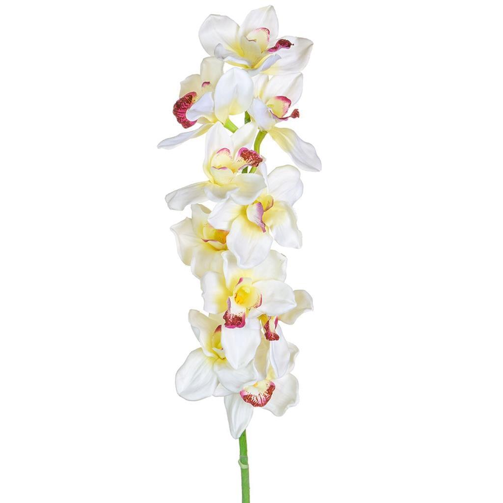 SF Orchid Cymbidium Cream S Medium 90cm