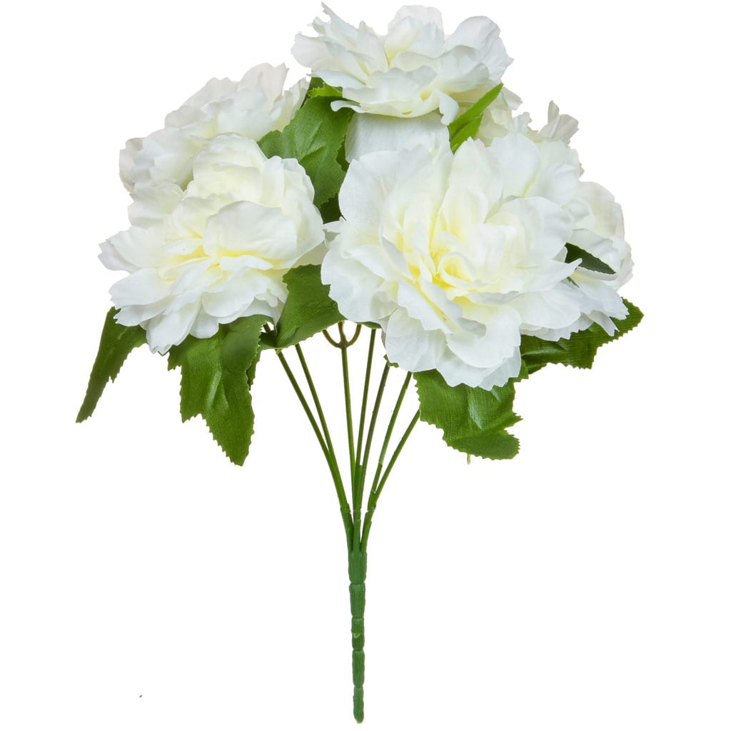 SF Bouquet white flower W 30cm