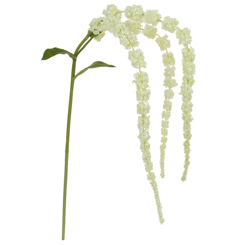SF Amaranthus Twig white XH 107cm