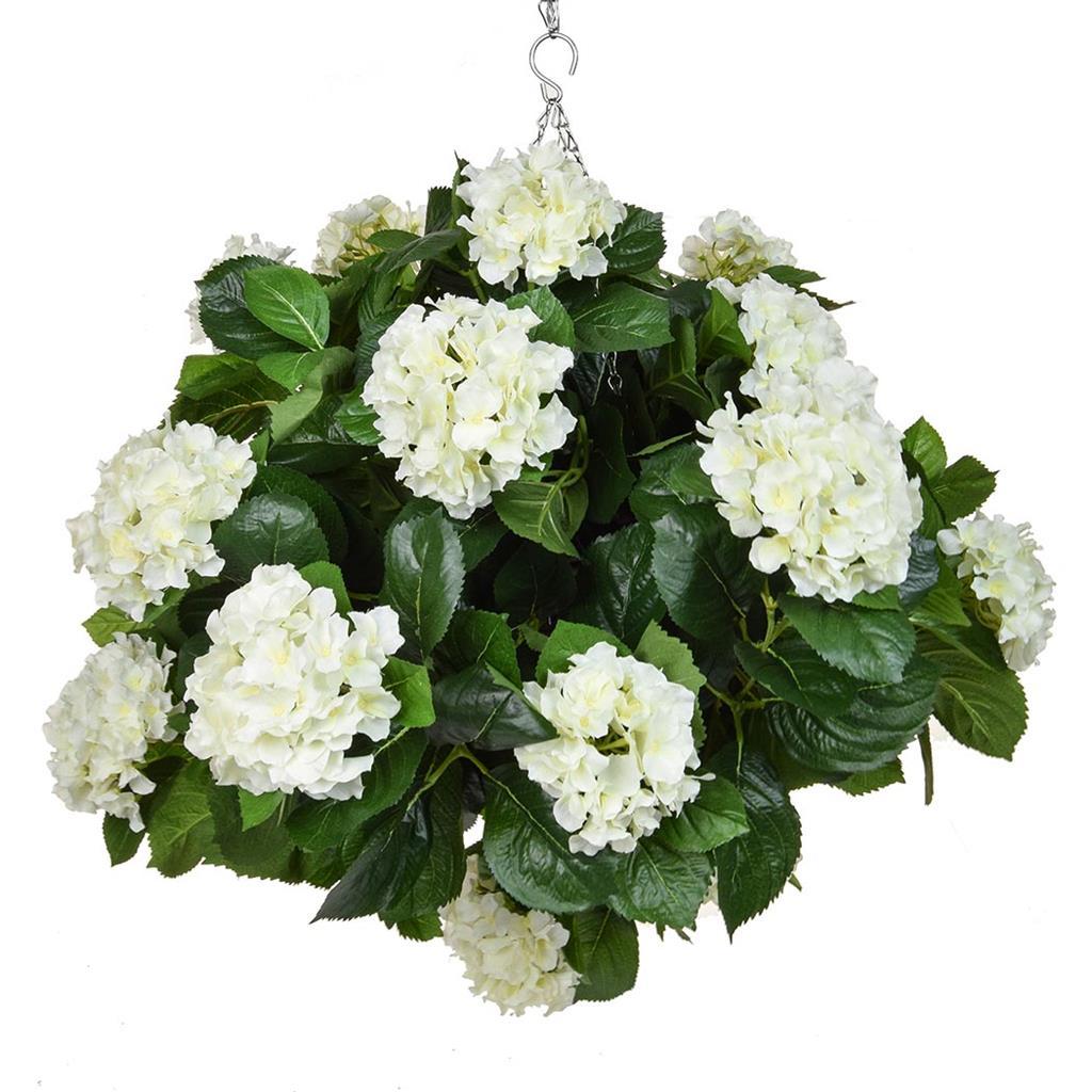 HB Hydrangea White Ball 50cm