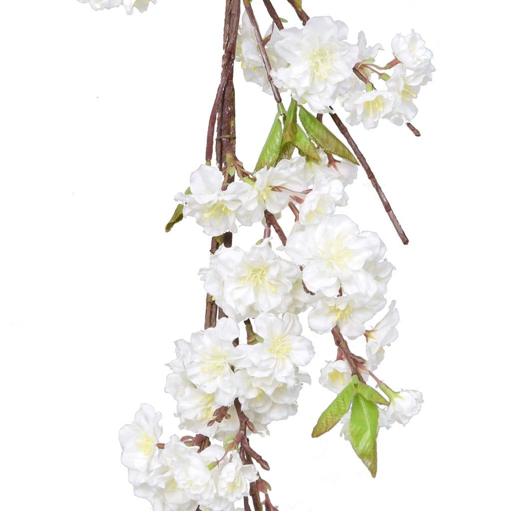I & T Cherry Blossom Garland Crm GB 152cm