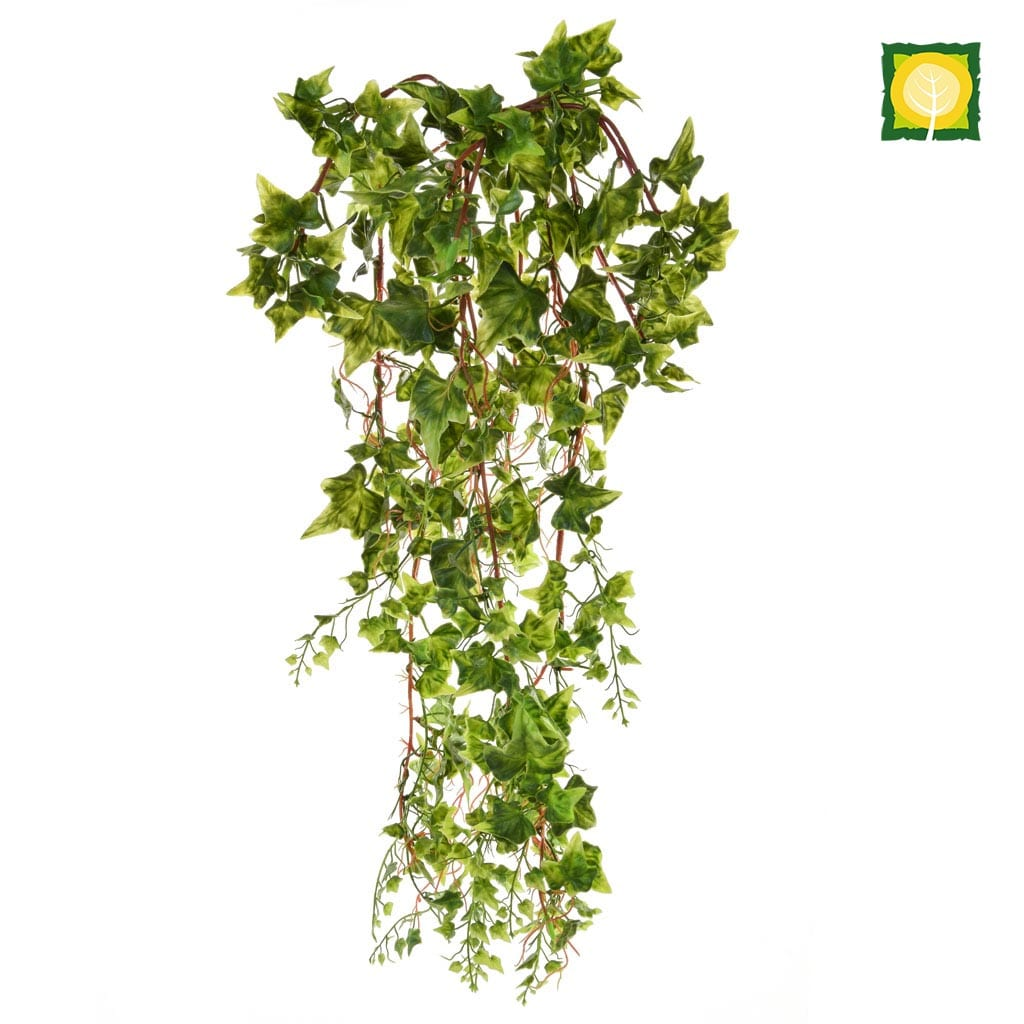 I & T Ivy Bush Plastic Green PI 80cm UV
