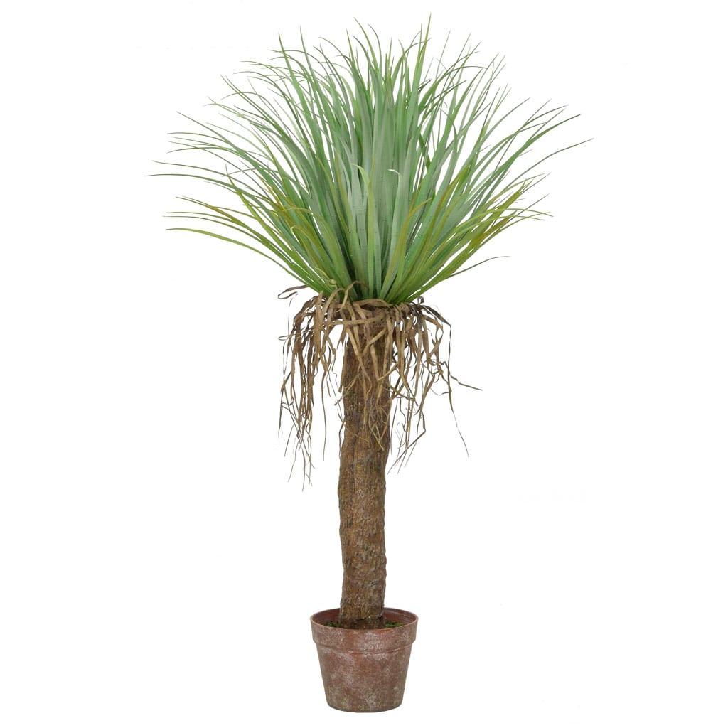Palm Cycas in Brown Pot YF 95cm