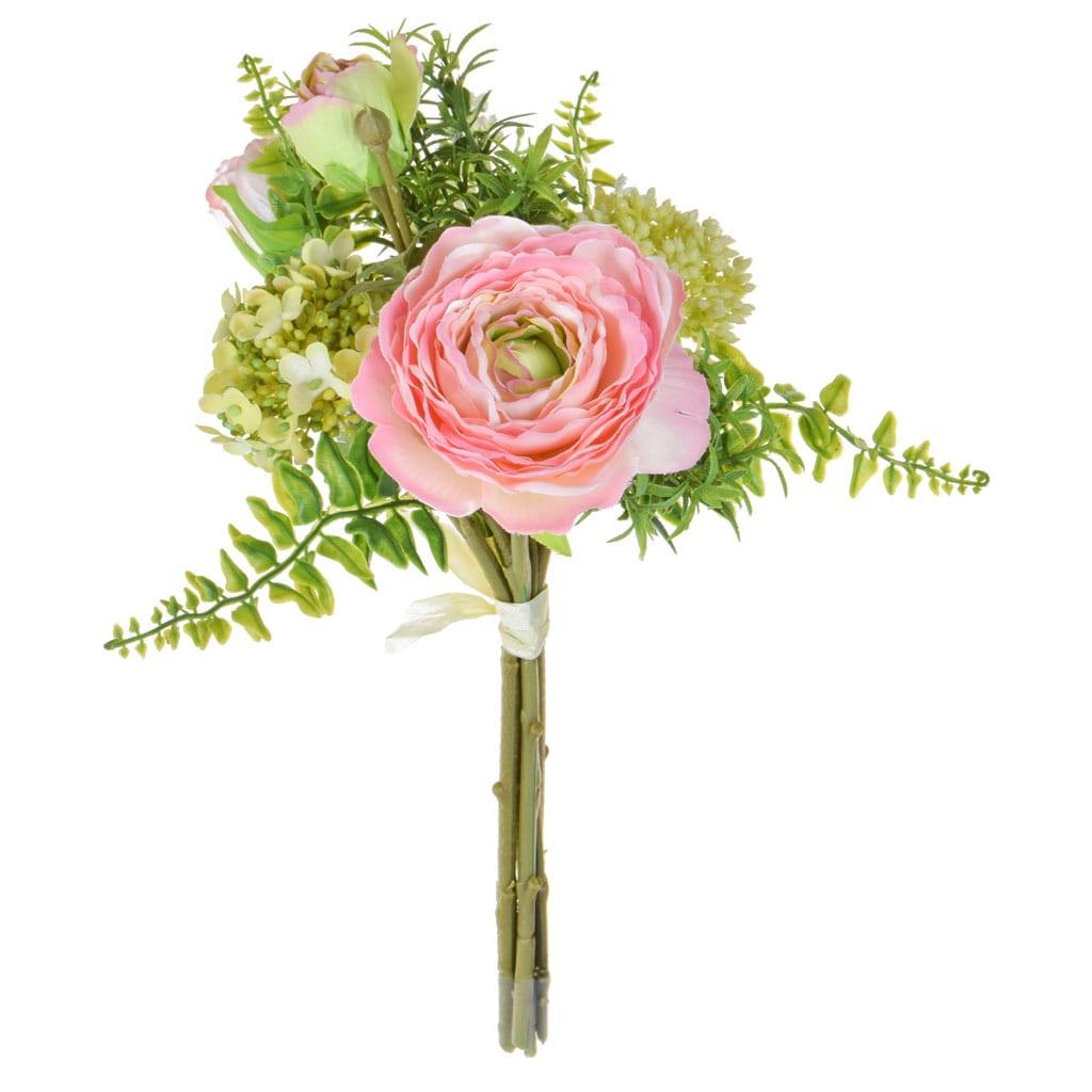 SF Bouquet Ranunculus JA Pink 31cm