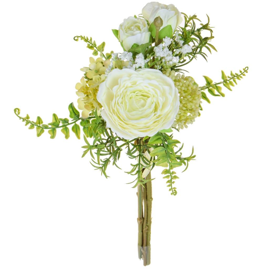 SF Bouquet Ranunculus JA Cream 31cm