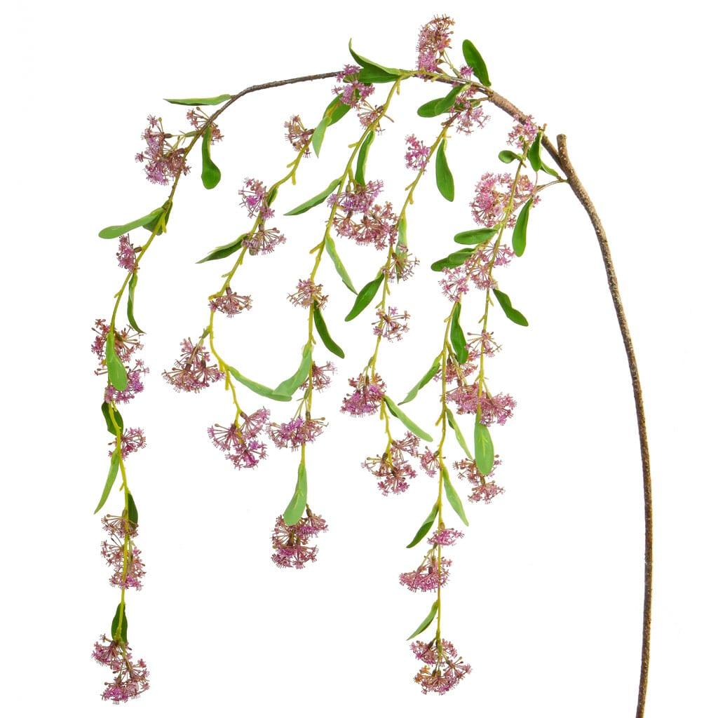 Foliage Ixora Branch Pink GB 149cm