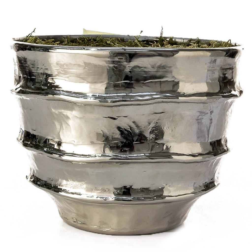 V-Pot Bamburgh Plated Planter 22cm