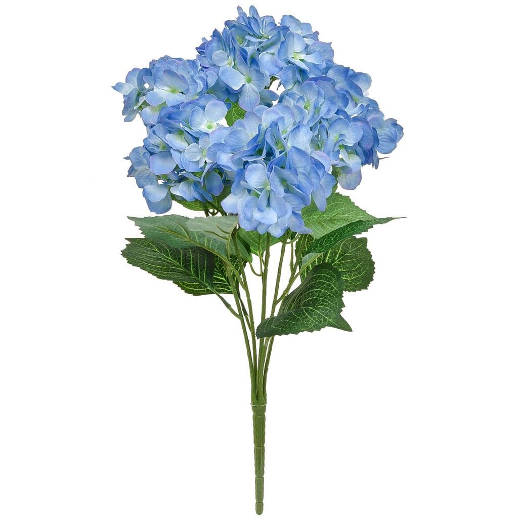 Plants Hydrangea Bush GB Blue 58cm