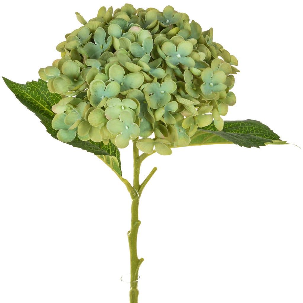 SF Hydrangea Small Green 52cm