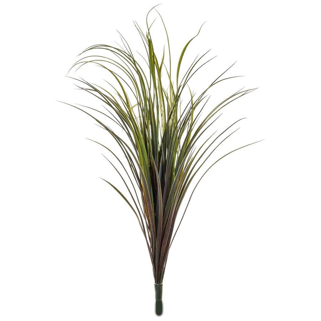 Grass Bush Green/Burgundy FY 90cm