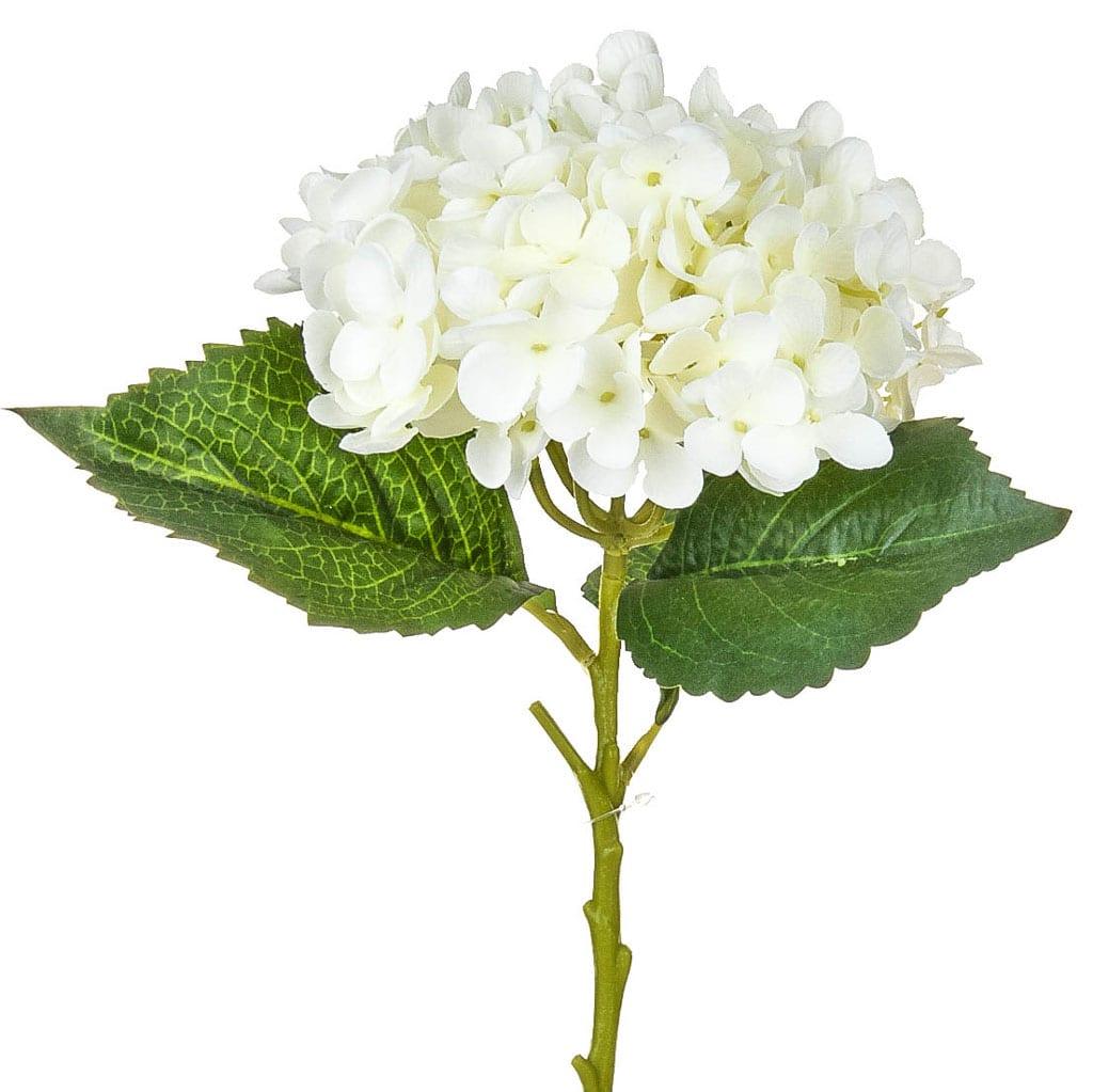 SF Hydrangea Small White 52cm
