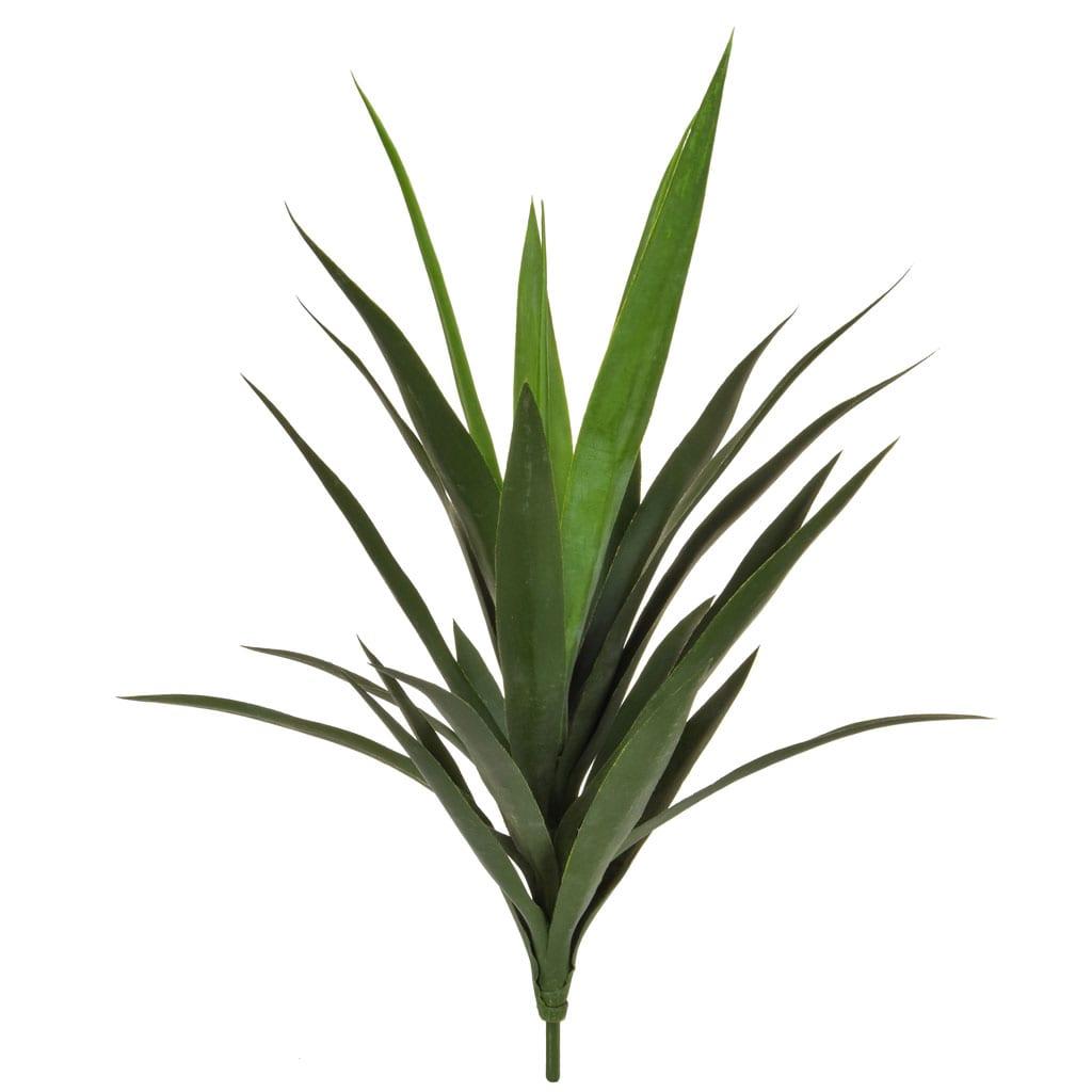Plants Yucca B Green 59cm w/16 lvs